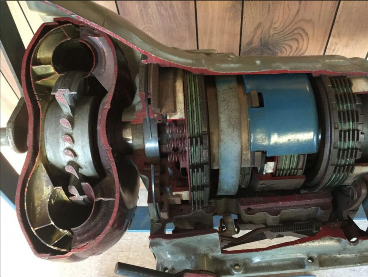 Transmission Cut to show you the inside of it